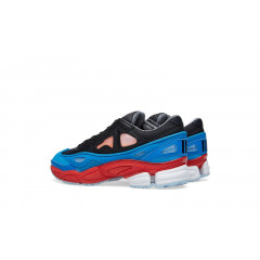 Raf Simons x Adidas Ozweego 2 Black/Red/Blue